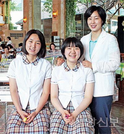 정미옥관장, 박현지, 박예지
