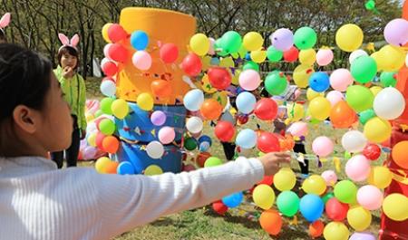 [봄꽃축제] 풍선다트