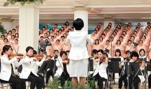 제38회 이슬성신절 예배 신앙촌에서 드려