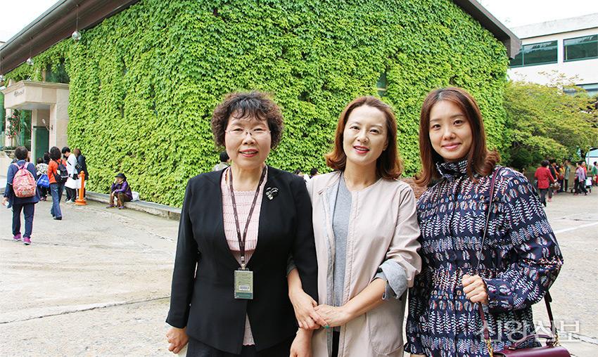 권정희 사장, 박현주 원장, 박해옥 씨