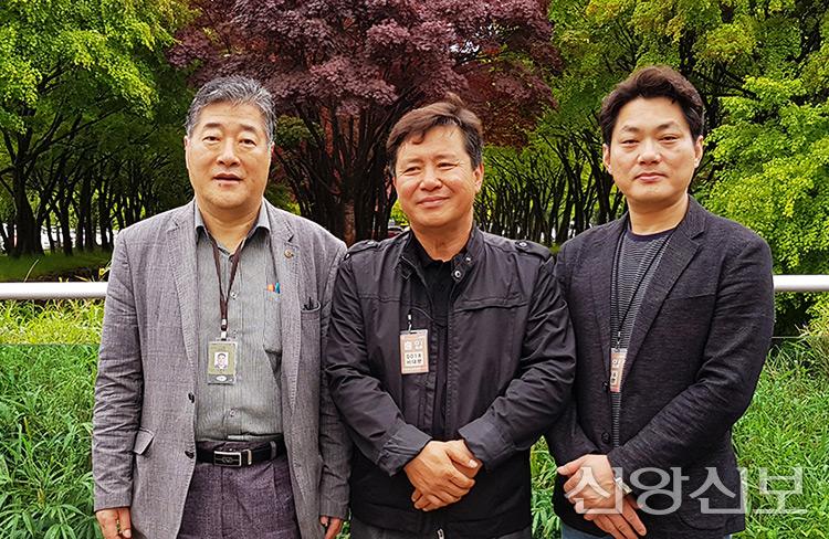 이용식 권사, 김기선 사장, 한상경 사장