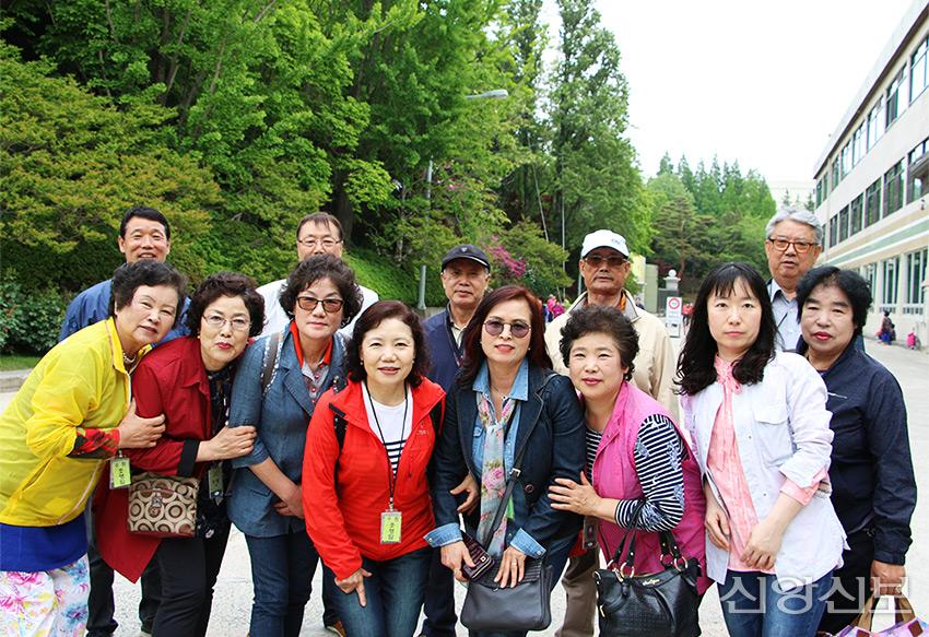 조영임 권사의 7남매 가족