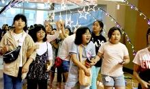 [6월 여학생 캠프] 축제에 입장하는 모습
