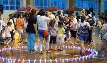 [6월 여학생 캠프] 불빛 야광 축제의 포토존