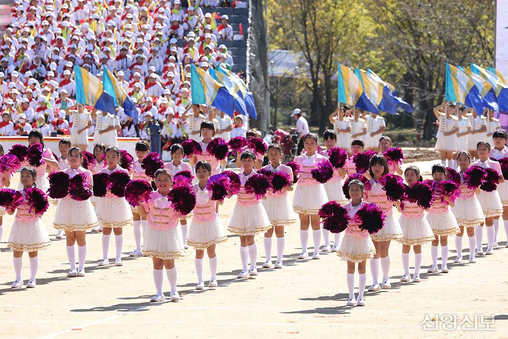 2016 천부교 체육대회 오프닝 공연