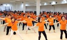 천부교 체육대회 청, 백군 선수들 연습 한창
