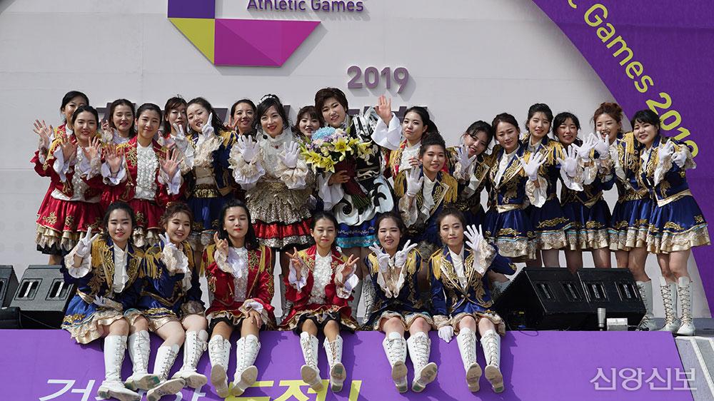2019 천부교체육대회 청배군 치어단